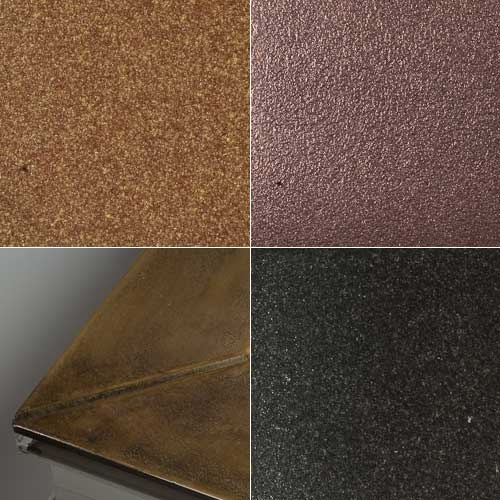 metallic-finishes examples